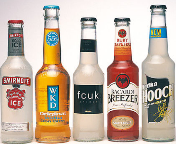 Alcopop Selection